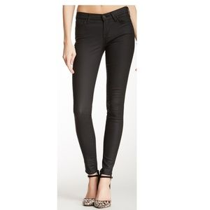 7 for All Mankind Gwenevere Coated Skinny Jean